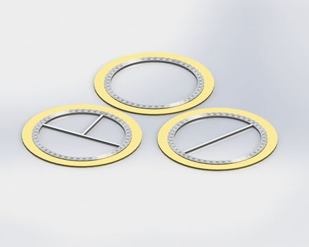 Picture for category Spiral Wound SS Gaskets for 400# applications