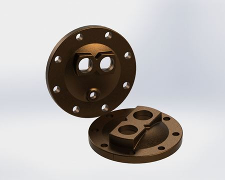 Picture for category U-Tube Heads - Cast Bronze
