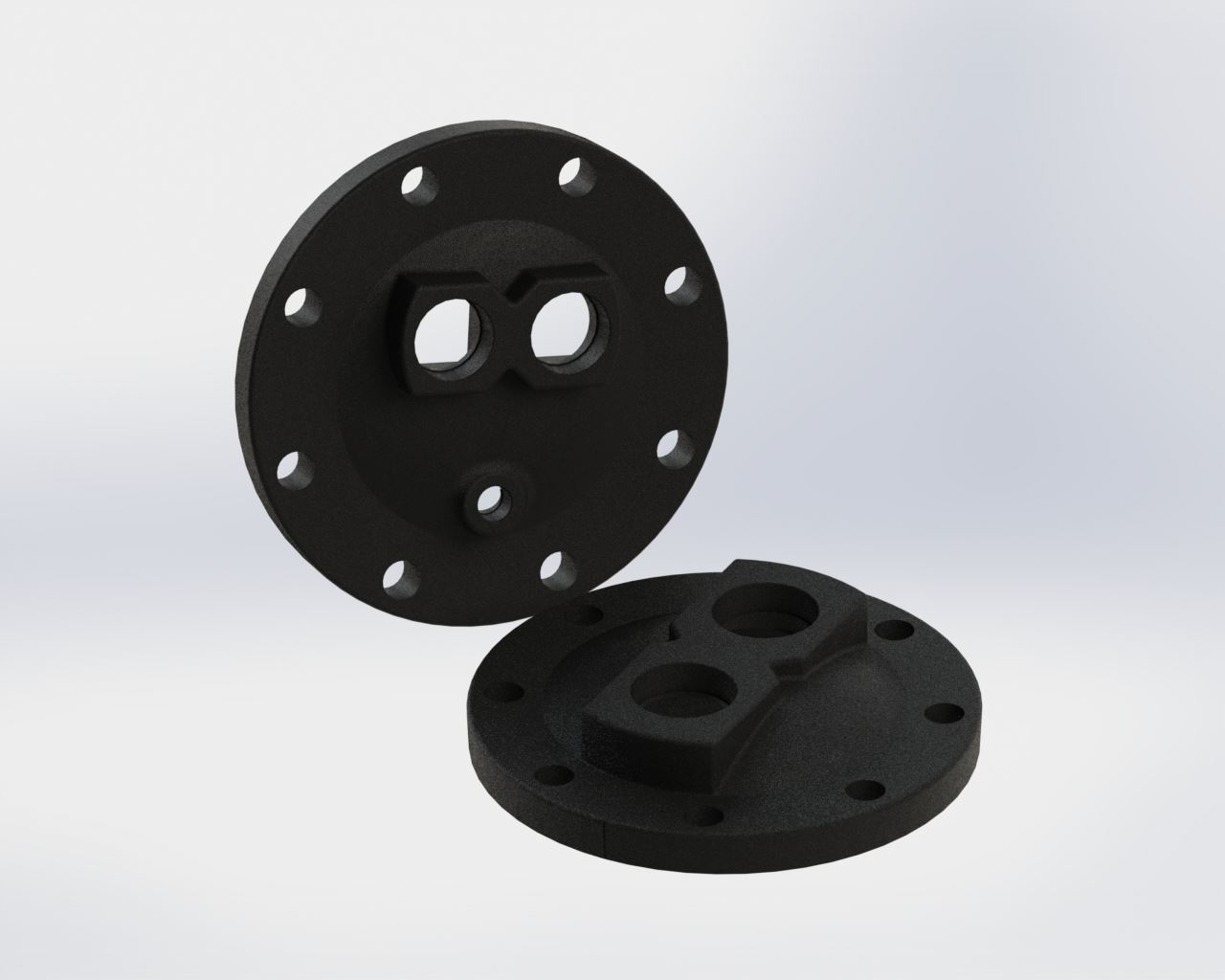 Picture of 5800-001 , U-TUBE HEADS - CAST IRON
