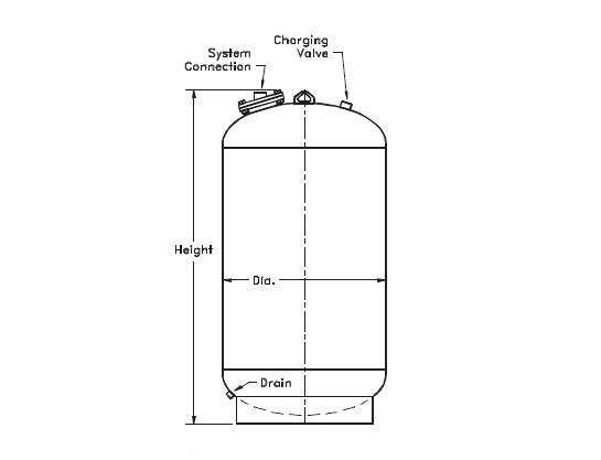 Picture of 177-22 , NLA SERIES EXPANSION TANKS (ASME)